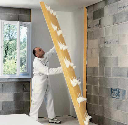 Isover Interior Wall Insulation